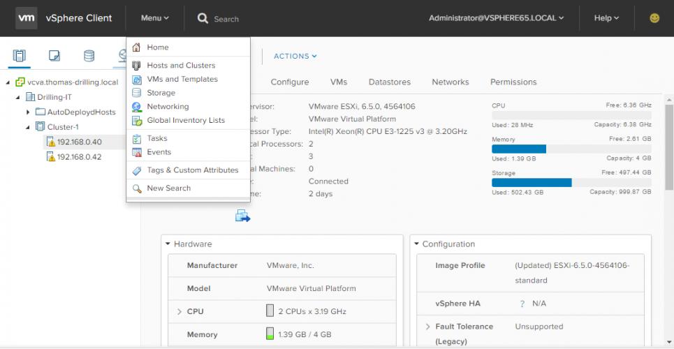 VMware veröffentlicht vSphere 6.5