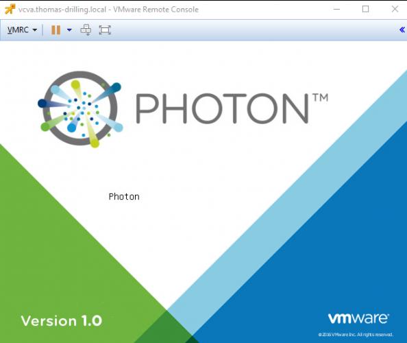 Das Photon-Root-Passwort zurücksetzen