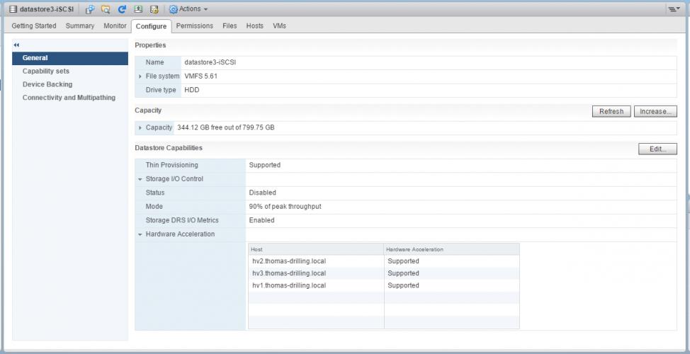 Anzahl VMs pro Datastore/LUN ?