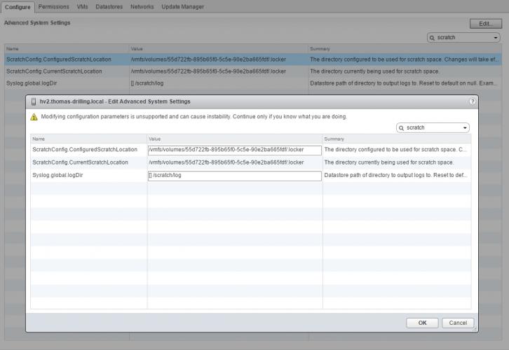 Was tun, wenn sich ein VMFS-Datastore nicht entfernen lässt?