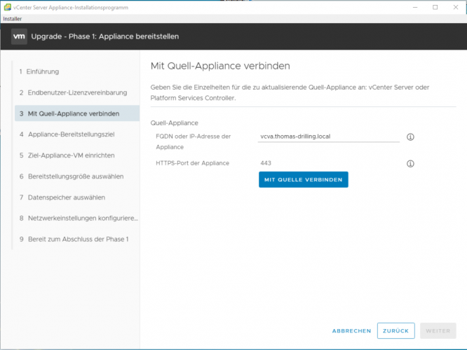 vCenter Server Appliance (vCSA) 6.7